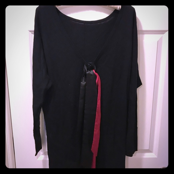 White House Black Market Dresses & Skirts - Sweater Dress with Low Back Detail